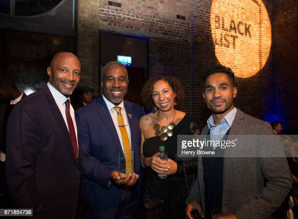 Cyrille Regis and guests at The Black Football List Celebration on November 8 2017 in London England