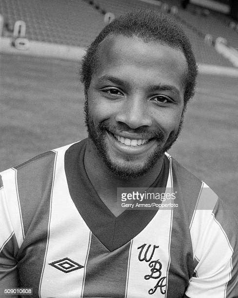 Cyrille Regis of West Bromwich Albion at the Hawthorns in West Bromwich 30th August 1982