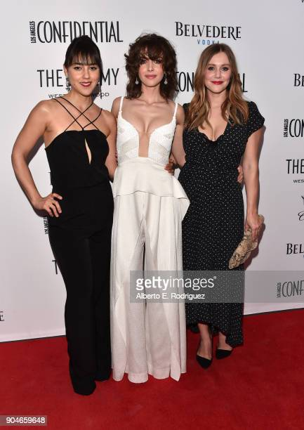 Cyrina Fiallo Alison Brie and Julianna Guill attend Los Angeles Confidential Celebrates 'Awards Issue' hosted by cover stars Alison Brie Milo...
