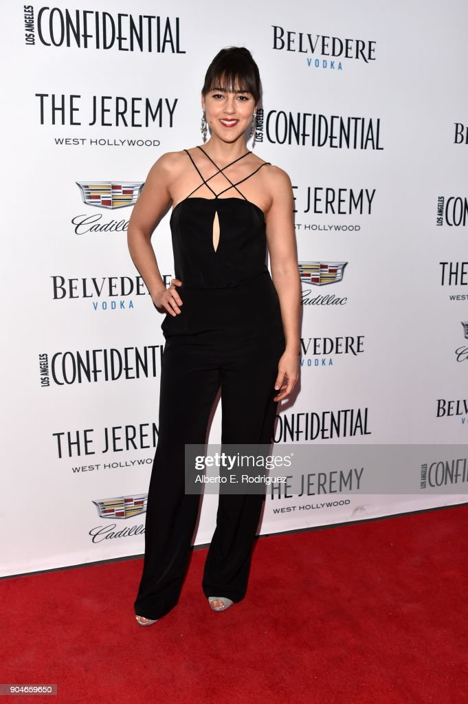 Cyrina Fiallo attends Los Angeles Confidential Celebrates 'Awards Issue' hosted by cover stars Alison Brie, Milo Ventimiglia and Ana De Armas at The Jeremy Hotel on January 13, 2018 in West Hollywood, California.