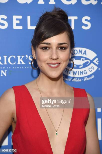 Cyrina Fiallo attends the IFC Films Independent Spirit Awards After Party presented by MovieGrade App Hendricks Gin and Kona Brewing Company on March...