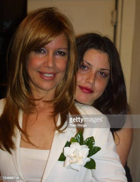 Cyrinda FoxeTyler and Mia Tyler during Family and friends rally to help Warhol Superstar Cyrinda FoxeTyler in her battle with brain cancer at CBGB in...