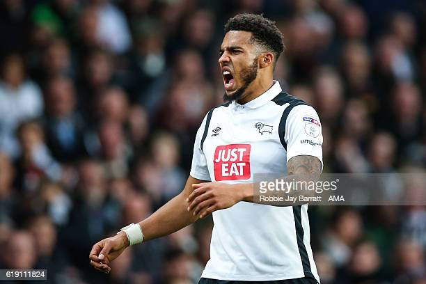 Cyrus Christie of Derby County during the Sky Bet Championship match between Derby County and Sheffield Wednesday at iPro Stadium on October 29 2016...