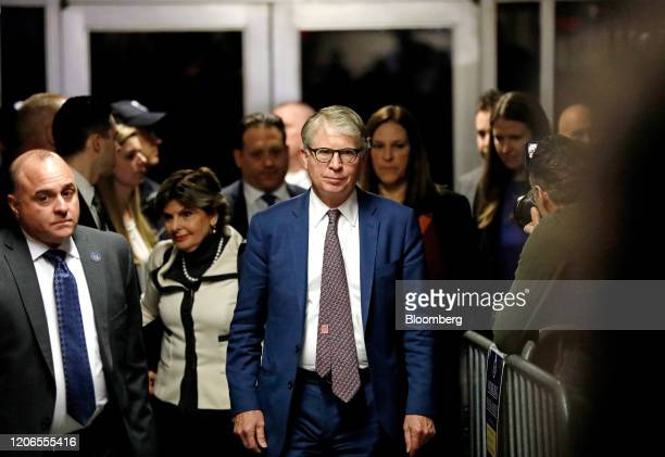 Cyrus Vance Manhattan district attorney center exits from state supreme court in New York US on Wednesday March 11 2020 Former cochairman of the...