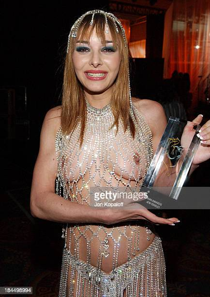 Cytherea during 2005 AVN Awards Arrivals and Backstage at The Venetian Hotel in Las Vegas Nevada United States