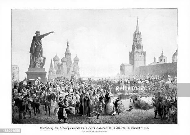 Czar Alexander II Moscow 1900