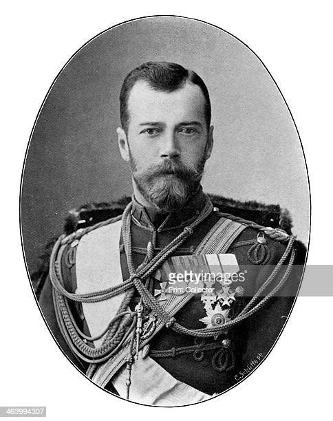Czar Nicholas II of Russia 1901 Portrait of Nicholas last Emperor of Russia King of Poland and Grand Duke of Finland Nicholas was assassinated...