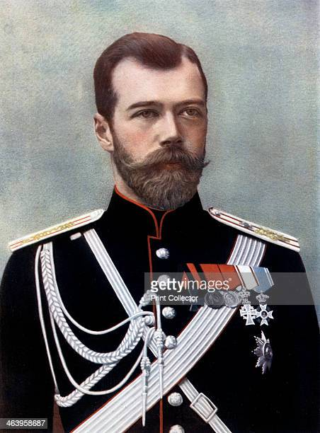 Czar Nicholas II of Russia late 19thearly 20th century Portrait of Nicholas last Emperor of Russia King of Poland and Grand Duke of Finland Nicholas...