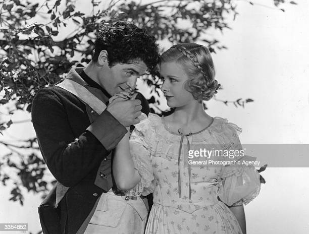 Czech actor Francis Lederer stars with American actress Joan Bennett in the Paramount production 'The Pursuit of Happiness' directed by Alexander Hall