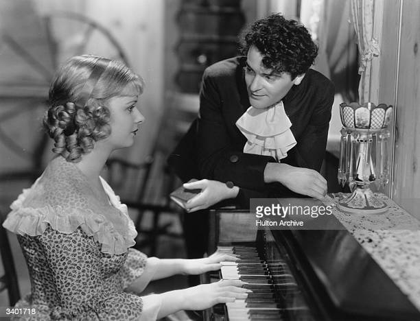 Czech actor Francis Lederer stars with American actress Joan Bennett in the romantic comedy 'The Pursuit of Happiness' directed by Alexander Hall for...