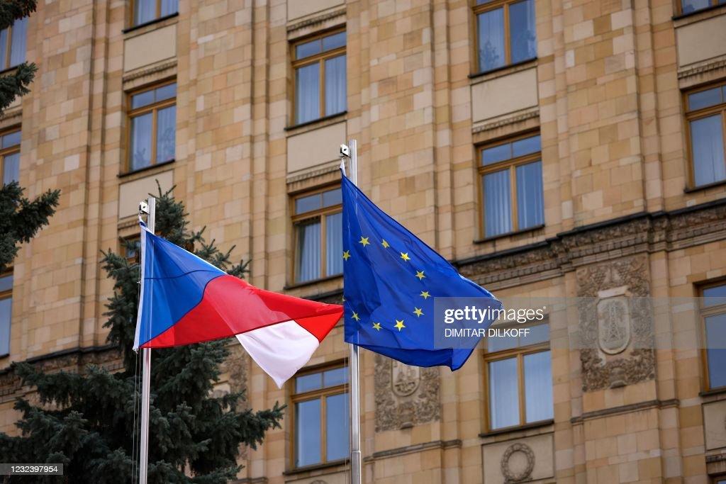 RUSSIA-CZECH-ESPIONAGE-DIPLOMACY : Nachrichtenfoto