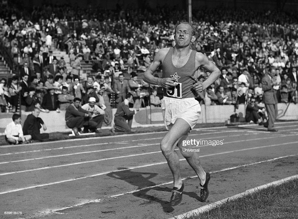 Athletics - Emil Zatopek : ニュース写真
