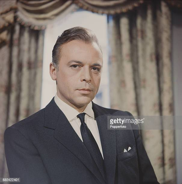 Czech born actor Herbert Lom in character as Dr Roger Corder on the set of the television drama series The Human Jungle in 1962