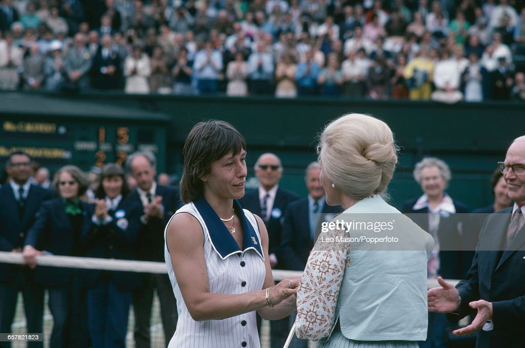 Martina Navratilova Wins 1978 Wimbledon Championships : News Photo