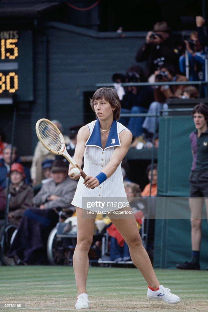 Martina Navratilova Wins 1978 Wimbledon Championships : News Photo