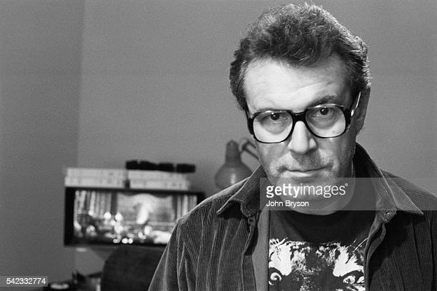 Czech director and screenwriter Milos Forman on the set of his movie Amadeus