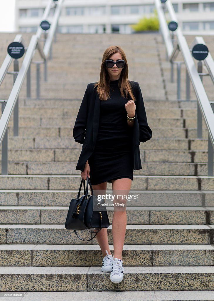 Street Style In Berlin - August, 2016 : News Photo