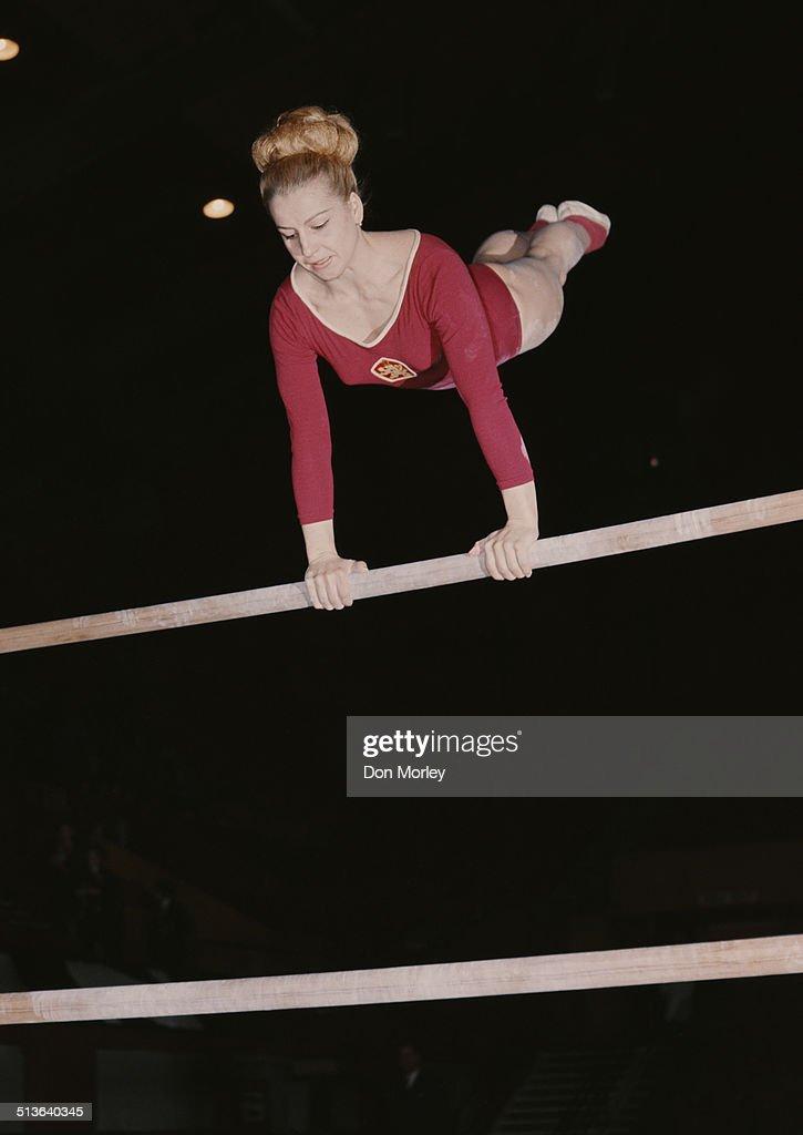 Vera Caslavska : News Photo