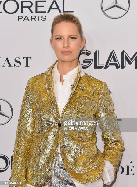 Czech model Karolína Kurková attends the 2019 Glamour Women Of The Year Awards at Alice Tully Hall Lincoln Center on November 11 2019 in New York City