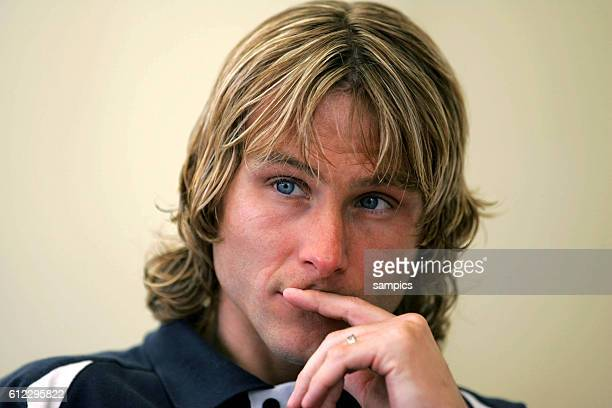 Czech Pavel Nedved during an interview