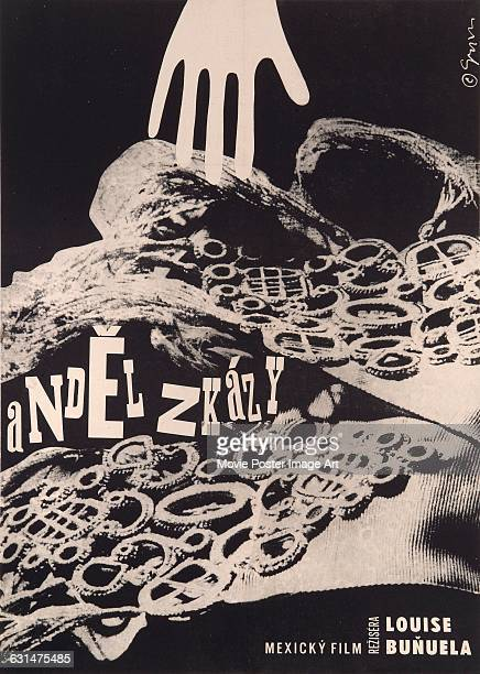 A Czech poster for the Mexican film 'El Angel Exterminador' directed by Luis Bunuel