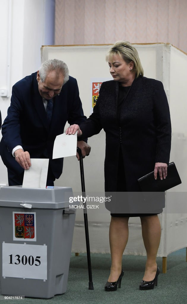 East-west clash as Czechs vote for new president