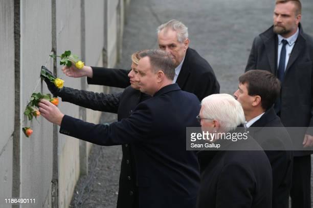 Czech President Milos Zeman Slovak President Zuzana Caputova Polish President Andrzej Duda Hungarian President Janos Ader and German President...