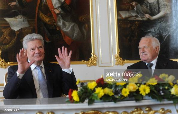 Vaclav Klaus Mladsi News: Czech President Vaclav Klaus And German President Joachim