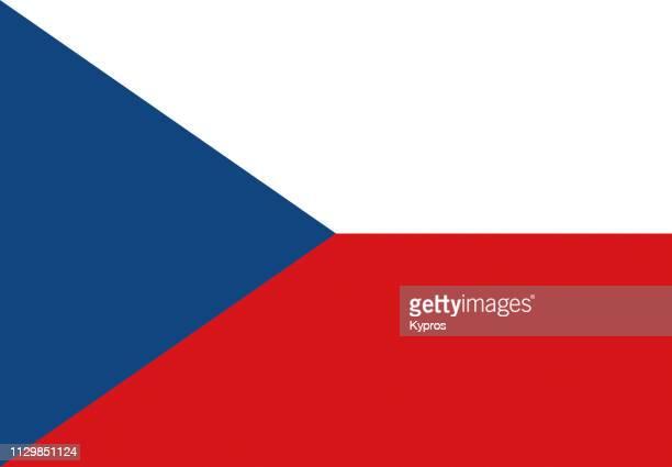 czech republic flag - czech republic stock pictures, royalty-free photos & images