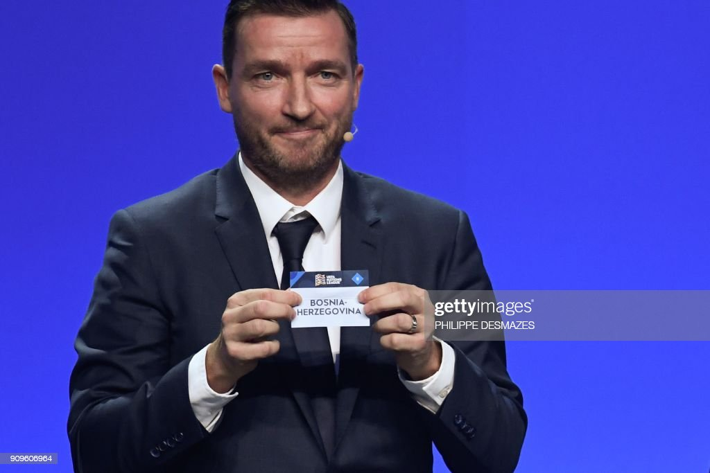 FBL-EUR-NATIONS LEAGUE-DRAW : News Photo