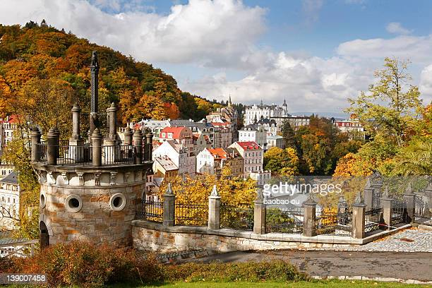 czech republic, karlovy vary - karlovy vary stock pictures, royalty-free photos & images