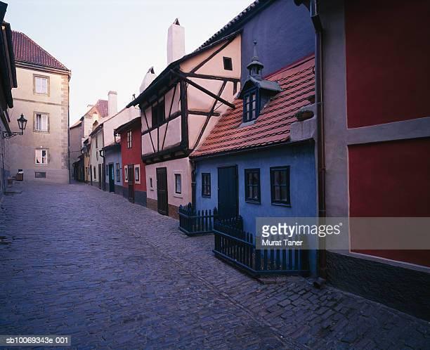 Czech Republic, Prague, Hradcany, Golden Lane