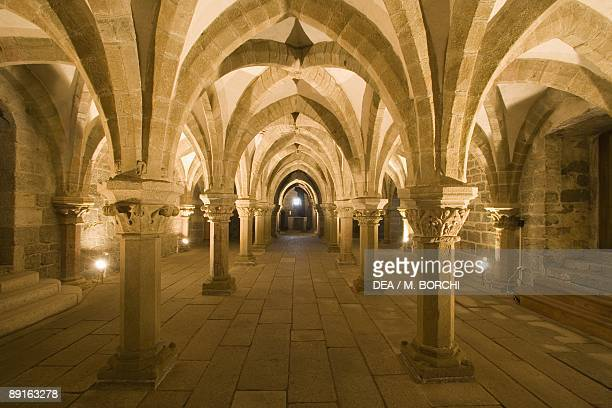 Czech Republic Southern Moravia Trebc St Procopius's Church UNESCO World Heritage List 2003 Crypt
