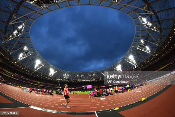 TOPSHOT Czech Republic's Barbora potáková competes in the final of the women's javelin throw athletics event at the 2017 IAAF World Championships at...