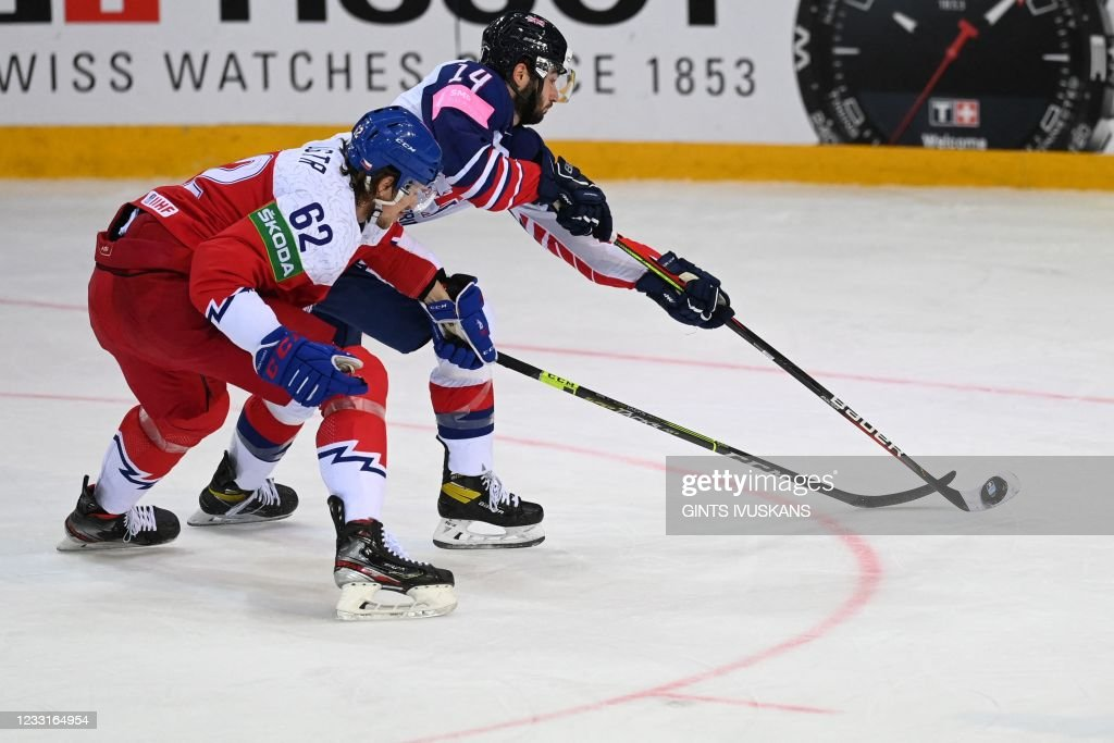 IHOCKEY-WC-IIHF-CZE-GBR : News Photo
