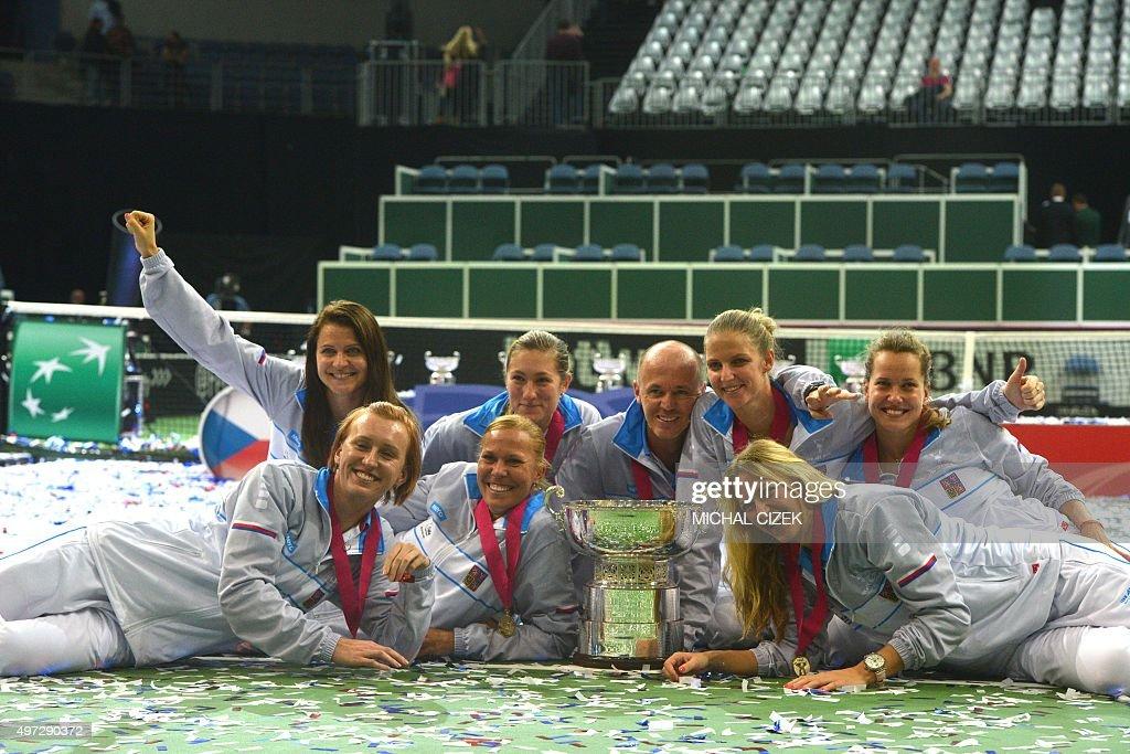 TENNIS-FEDCUP-CZE-RUS : News Photo