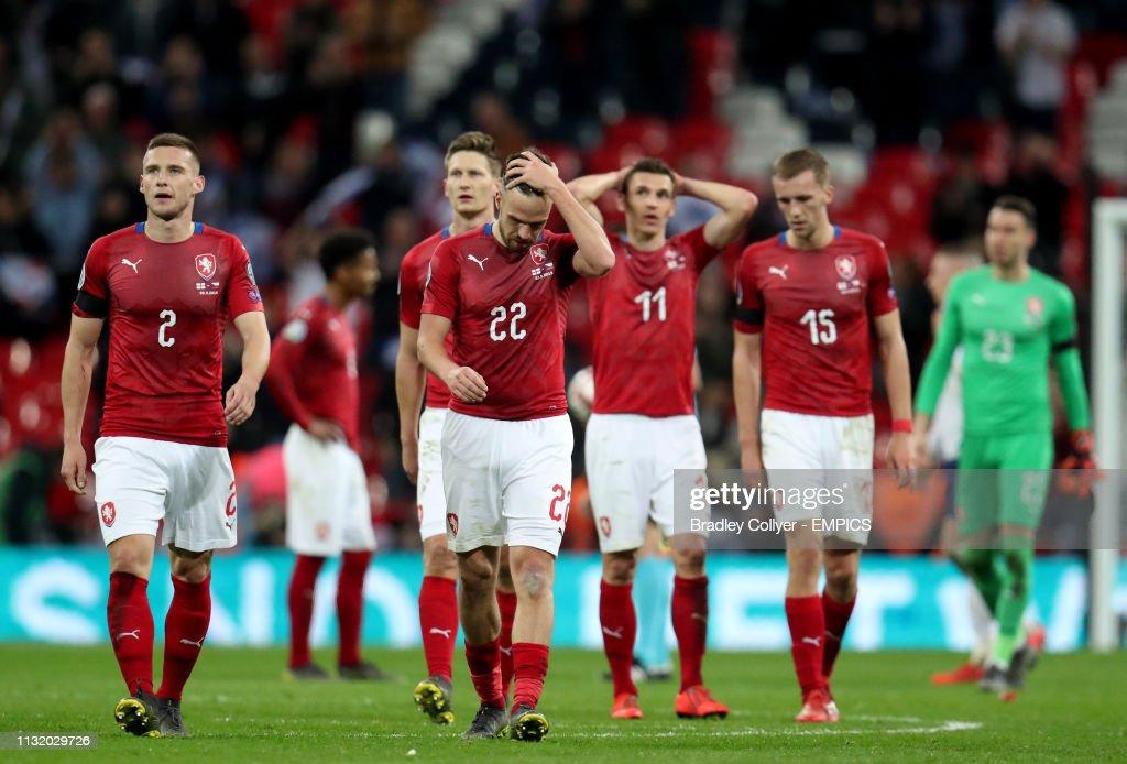 England v Czech Republic - UEFA Euro 2020 Qualifying - Group A - Wembley Stadium : News Photo
