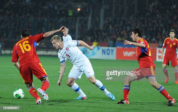 Czech Republic's National Football Team Forward Matej