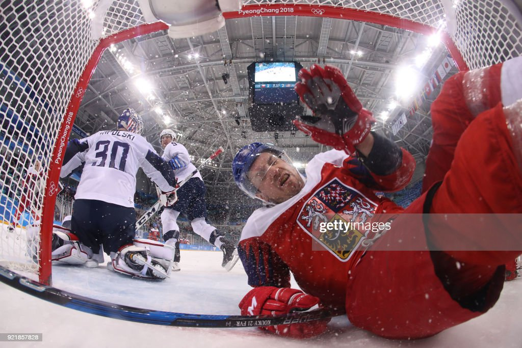 IHOCKEY-OLY-2018-PYEONGCHANG : News Photo