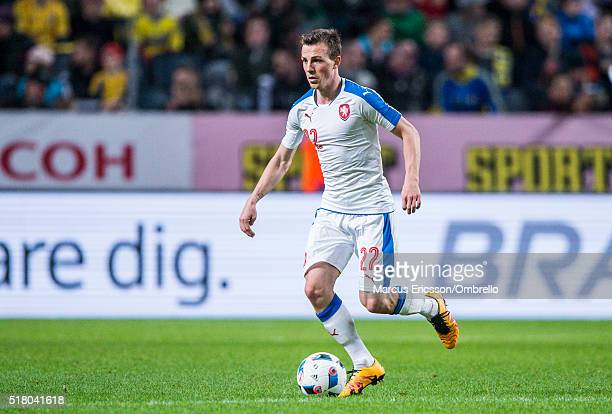 Czech Republics Vladimir Darida during the international friendly between Sweden and Czech Republic at Friends Arena on March 29 2016 in Solna Sweden