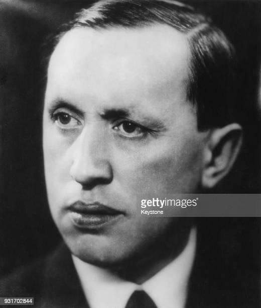 Czech writer Karel Capek circa 1915