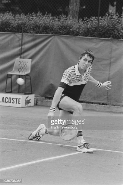 CzechAmerican professional tennis player Ivan Lendl in action UK 5th June 1979