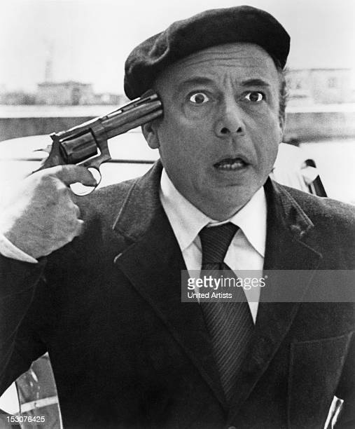 Czechborn actor Herbert Lom as the deranged Dreyfus in the film 'Revenge of the Pink Panther' 1978