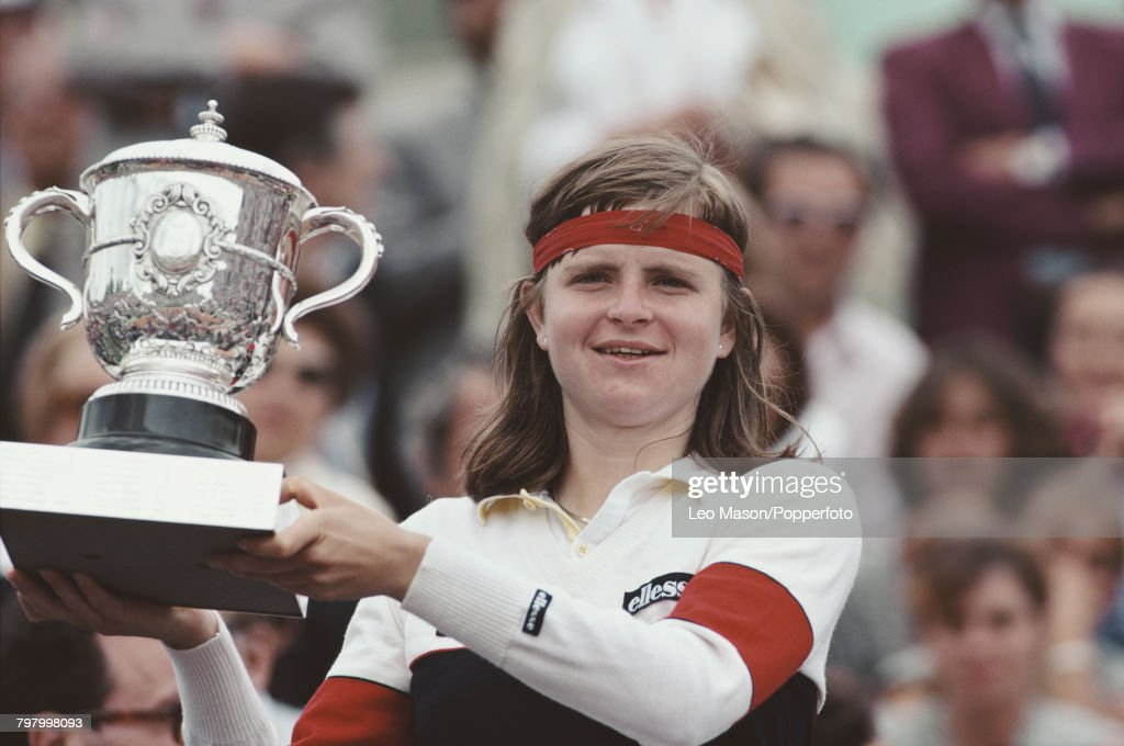 Hana Mandlikova Wins 1981 French Open : News Photo