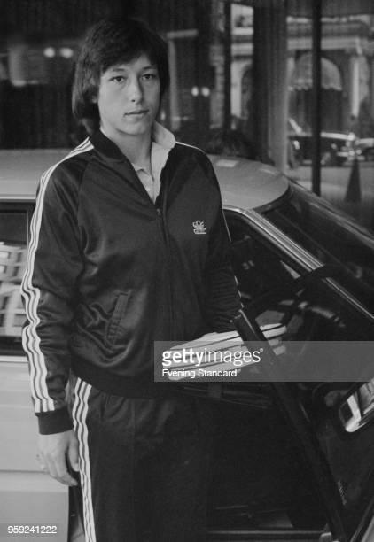Czechoslovak tennis player Martina Navratilova UK 7th July 1978
