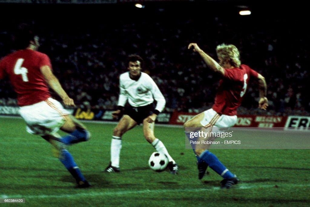Soccer - European Championship - Final - West Germany v Czechoslovakia - Crvena zvezda, Beograd : News Photo