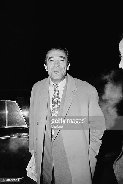 Czechoslovakianborn British media proprietor and Member of Parliament Robert Maxwell 1969