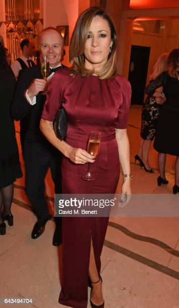 d Natalie Pinkham attends the annual BFI Chairman's Dinner honouring Peter Morgan with the BFI Fellowship at Claridge's Hotel on February 21 2017 in...
