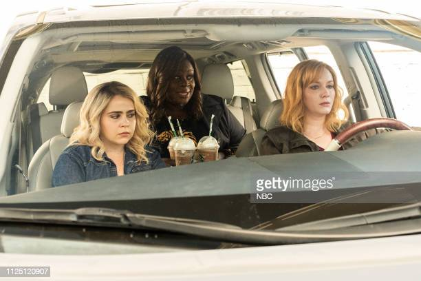 GIRLS 'I'd Rather Be Crafting' Episode 201 Pictured Mae Whitman as Annie Marks Retta as Ruby Hill Christina Hendricks as Beth Boland