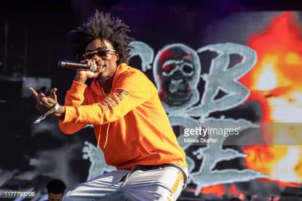 Da Boii of SOB X RBE performs at Rolling Loud festival at OaklandAlameda County Coliseum on September 28 2019 in Oakland California